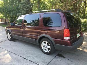 2008 Pontiac Montana Mini Van SV6 Fully Loaded New Safety