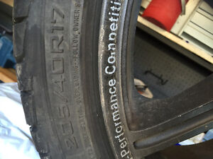 Summer tires and rims REDUCED!! 205/40/17 (4x114.3)and(4x100) London Ontario image 2