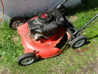 "Wanted: good 20"" or 21"" lawn mower deck"
