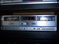 double deck cassette