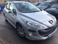Peugeot 308 1.6 VTi ( 120bhp ) S 5 DOOR - 2009 59-REG - 10 MONTHS MOT