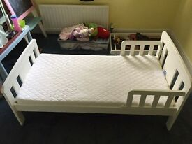 Cabin Bunk Children White Bed