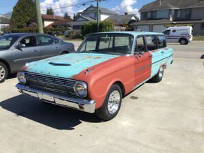 1963 Ford Falcon Wagon Project