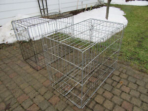 2 DOG CRATES FOR SALE, $35.& $40.
