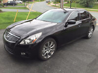 2012 Infiniti G37S Sport Sedan 6-Speed Manual