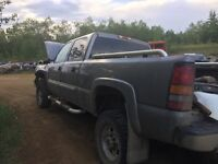 parting out chevy/gmc trucks from 1988-2012