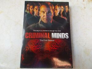 Criminal Minds Season 1, 2 & 3 DVD's For Sale, $9 Each!