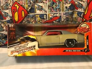 Fast and Furious 1970 Chevy Monte Carlo die cast Series I