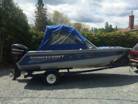Great Boat , motor and Trailer package