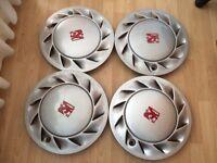 Vauxhall cavalier mk3 Sri wheel trims (4x100,Corsa,Astra,nova,calibra,alloys,wheels)