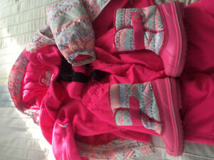 Girls winter outfit size 10-12 .