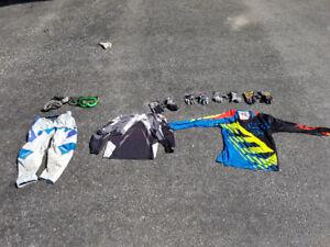Youth motocross gear