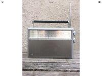 ITT Polo 200 AM - FM RECEIVER Rare Vintage Portable Radio 100% WORKING
