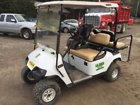 Ex-go 4 seater gas golf cart.