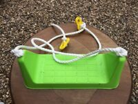 Swing and rope £3