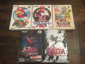 Japanese NINTENDO 64 games FOR SALE