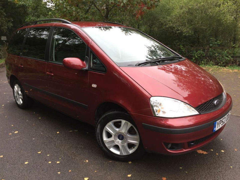 2002 ford galaxy ghia 1 9tdi in ferndale rhondda cynon. Black Bedroom Furniture Sets. Home Design Ideas