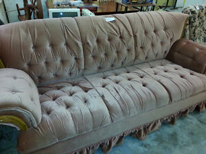 Big comfy couch and swivel rocker