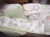 Babies r us Olive, Henry and friends bedding set
