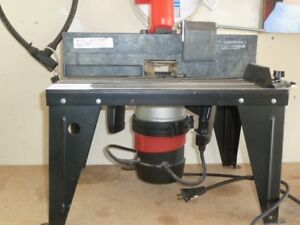 SEARS ROUTER AND TABLE