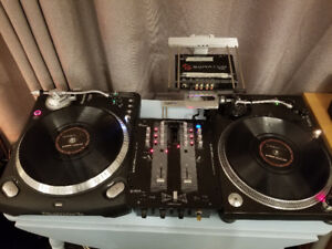 Full DJ Setup! High-End Direct Drive, Vinyl, Technics, Numark