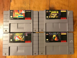 Selling Bundle of NES/SNES Games and Accessories