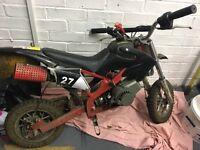 50cc off road mini moto