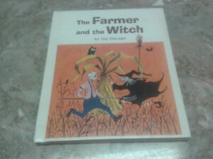 THE  FARMER and the  WITCH....by  Ida  DeLage.....1966..Original