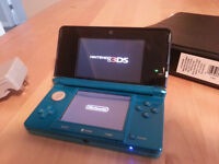 Nintendo 3DS with Charger and Case. Games optional.