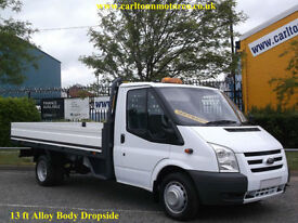 2011/11 Ford Transit 115 T350L EF Dropside 13.2ft Alloy Light weight body DRW