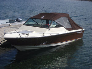 1978 Grew 206 Cuddy-cabin Runabout with Trailer