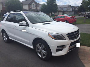2015 Mercedes-Benz M-Class ML350 BlueTEC SUV, Crossover
