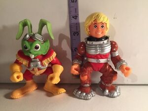 Bucky o'hare action figures