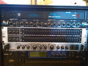 Effects Rack for mixing live bands