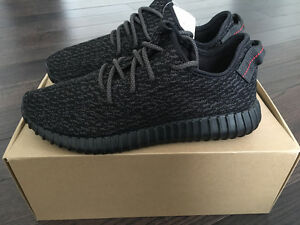 Yeezy Boost 350 - Pirate Black (Size 12)