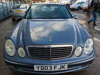 Mercedes-Benz E320 3.2TD auto CDI Avantgarde 4 DOOR - 2003 03-REG - 8 MONTHS MOT