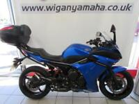 YAMAHA XJ6F ABS DIVERSION, 11 REG 14437 MILES, TOP CASE WITH BACK REST PAD...