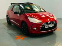 2013 Citroen DS3 1.6 THP DSport 2dr CONVERTIBLE Petrol Manual