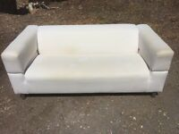IKEA sofa cream used condition. 177cm length. Can deliver.