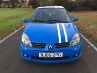 Renault Clio 2.0 182 CUP + Leather + AC + 12 Months MOT