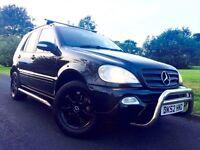 Mercedes ML 270 CDI 5dr Black, Full Service History, Bull Bars, Side Steps 2 Keys
