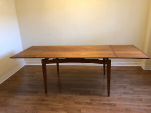 Teak Dining TABLE ONLY  - $799 - Dixie and Dundas Mississauga