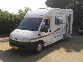 Autocruise Starquest, 2002, Sleeps 2, New Cam Belt, Very Good Service History,