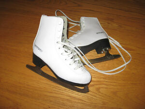 patin a glace blanc fille gr 12