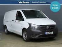 2017 Mercedes-Benz Vito 114CDI BlueTec Extra Long Wheelbase L3H1 Low Roof Van PA