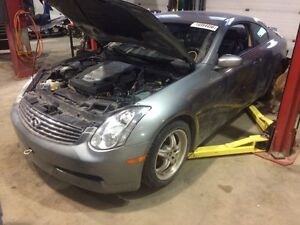 Parting out 2006 Infiniti g35 coupe