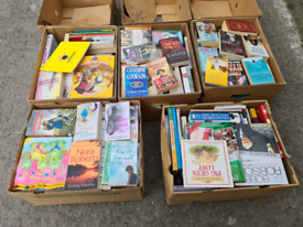 5 Boxes of Mixed Books