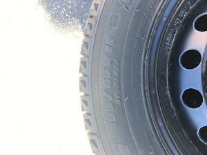 Michelin X-Ice Winter Tires with Rims Kitchener / Waterloo Kitchener Area image 2