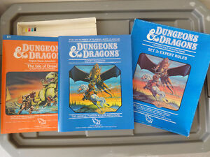 Dungeons and Dragons Modules (Never used/played) + other items