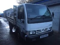 Bargain Nissan cabstar 34.10 swb, full years MOT ready for work